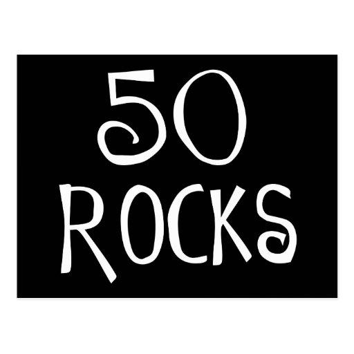 50th Birthday Gifts, 50 ROCKS