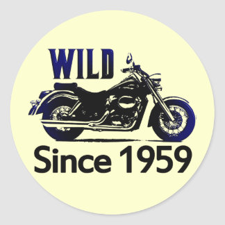 50th Birthday Gifts Classic Round Sticker