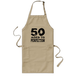 50th Birthday Gifts! Long Apron