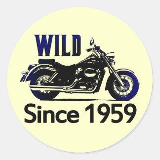 50th Birthday Gifts Round Sticker