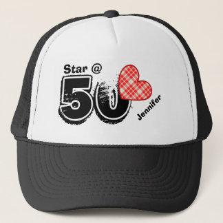 50th Birthday I'm a Star Custom Name V10 Trucker Hat