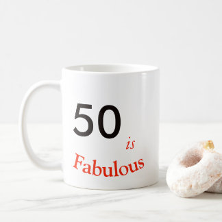50th Birthday Mug. Coffee Mug