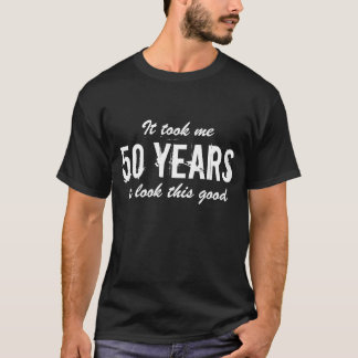 50th Bitrthday t shirt | Customizable