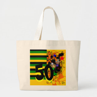 50th Celebration Large Tote Bag