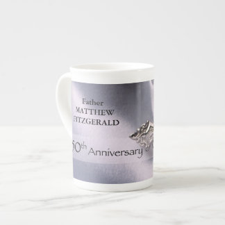 50th Custom Name Ordination Anniversary Chalice Tea Cup