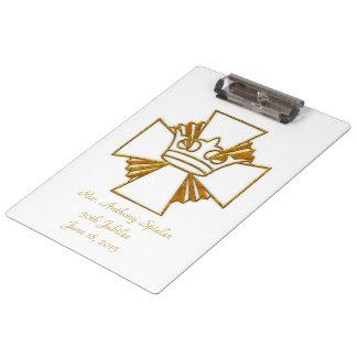 50th Golden Jubilee Priest Ordination Anniversary Clipboard