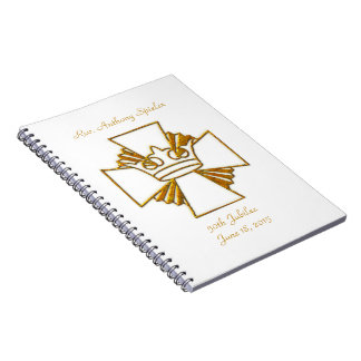 50th Golden Jubilee Priest Ordination Anniversary Notebooks