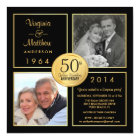 50th Golden Wedding Anniversary Surprise Party Card