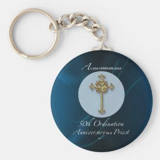 50th Jubilee Ordination Anniversary of Priest Keychain