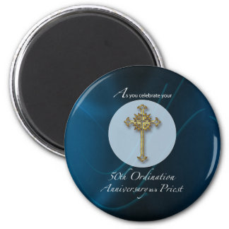 50th Jubilee Ordination Anniversary of Priest Magnet