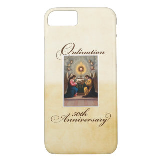50th Ordination Anniversary Angels at Altar iPhone 8/7 Case