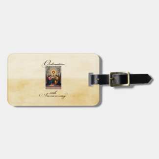 50th Ordination Anniversary Angels at Altar Luggage Tag