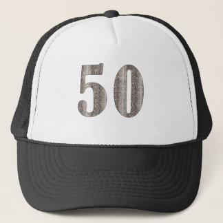 50th Snakeskin Trucker Hat