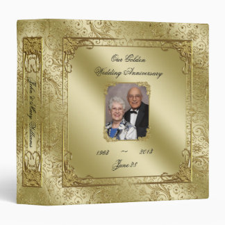"50th Wedding Anniversary 1.5"" Photo Binder"