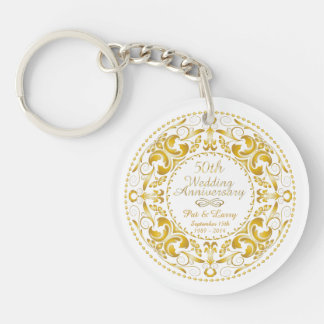 50th Wedding Anniversary 1 - Key Chain