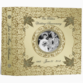 50th Wedding Anniversary Binder