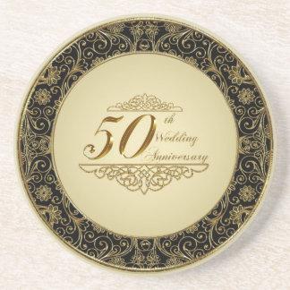 50th Wedding Anniversary Coaster