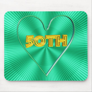 50th Wedding Anniversary Gifts Mouse Pad