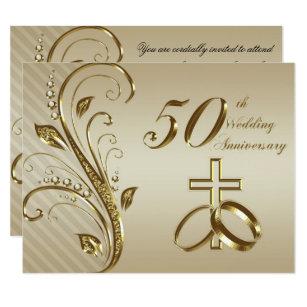 50th wedding anniversary invitations zazzle ca 50th wedding anniversary invitation card stopboris Gallery