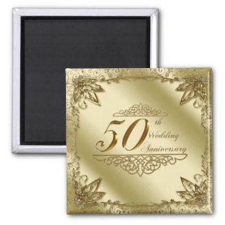 50th Wedding Anniversary Magnet