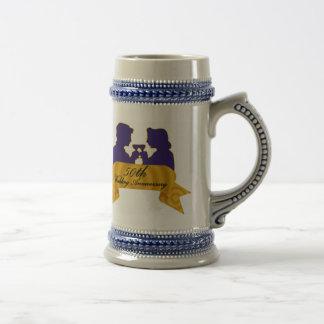 50th Wedding Anniversary Mug
