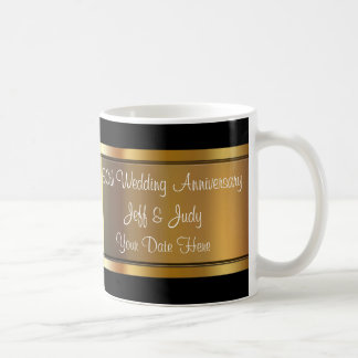 50th Wedding Anniversary Basic White Mug