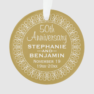 50th Wedding Anniversary Personalized