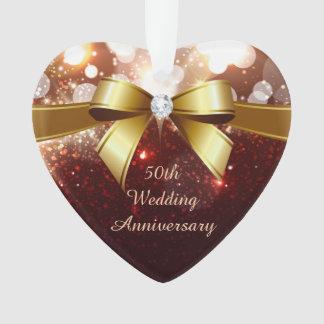 50th Wedding Anniversary - Stylish Glitter Diamond