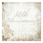 "50th Wedding Anniversary - ""Telemark"" Announcements"