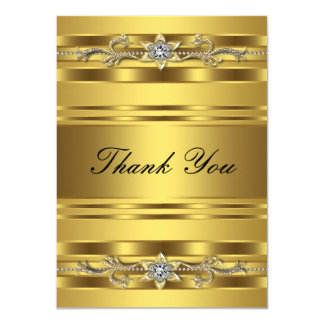 50th Wedding Anniversary Thank You Card