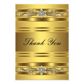 "50th Wedding Anniversary Thank You Card 3.5"" X 5"" Invitation Card"