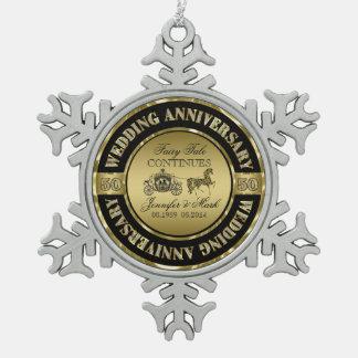 50th Wedding Anniversary-Wedding Horse & Carriage Ornaments