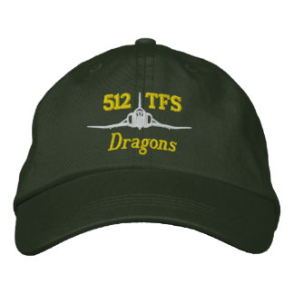 512 TFS F-4 Golf Hat