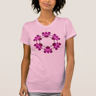 5130155sommer flower orcide T-Shirt