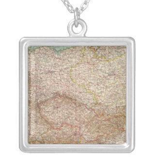 5152 Germany, Poland, Czechoslovakia Silver Plated Necklace