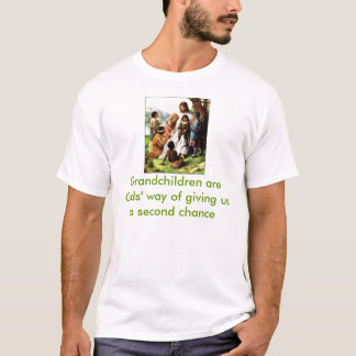 51608[2] Grandchildren are Gods' way T-Shirt