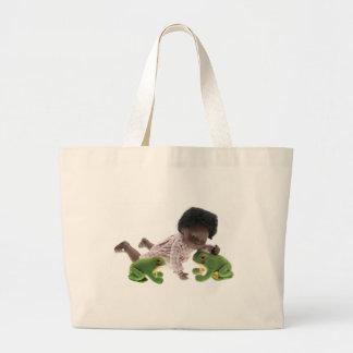 519 Sasha Cara Black baby bag