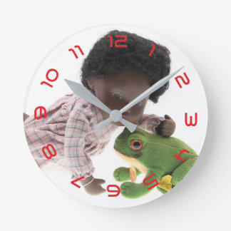 519 Sasha Cara Black baby clock
