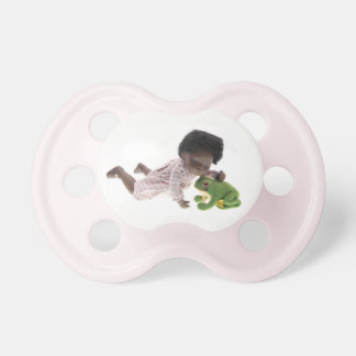 519 Sasha Cara Black baby dummy Nuggi