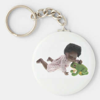 519 Sasha Cara Black baby key supporter Keychain