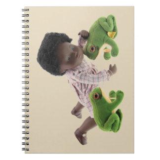 519 Sasha Cara Black baby note booklet Notebook