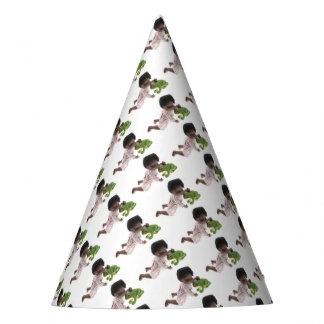 519 Sasha Cara Black baby party little hat
