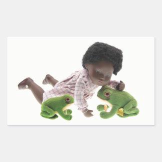519 Sasha Cara Black baby sticker