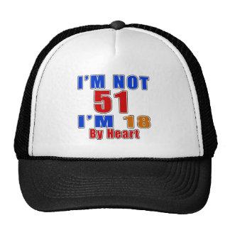 51 American Legend Birthday Designs Trucker Hat