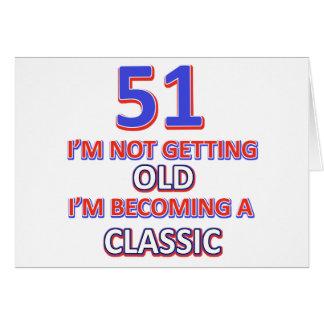 51 birthday desigs card
