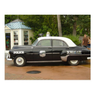 '51 Chevrolet Police Car Postcard