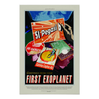51 Pegasi b, Travel Poster