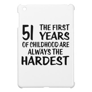 51 The First  Years Birthday Designs iPad Mini Covers