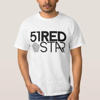 51RS 51 Star Pentagon design Tee Shirt