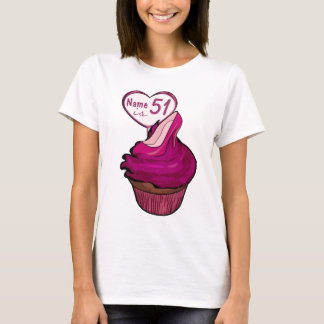 51st Birthday Cupcake T-shirts